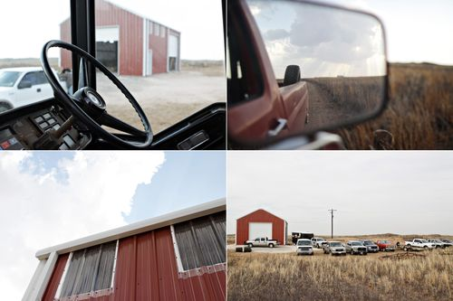 Collage barn