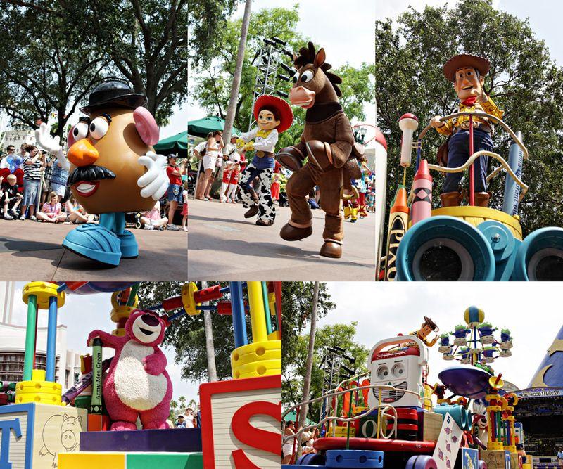 Collage parade